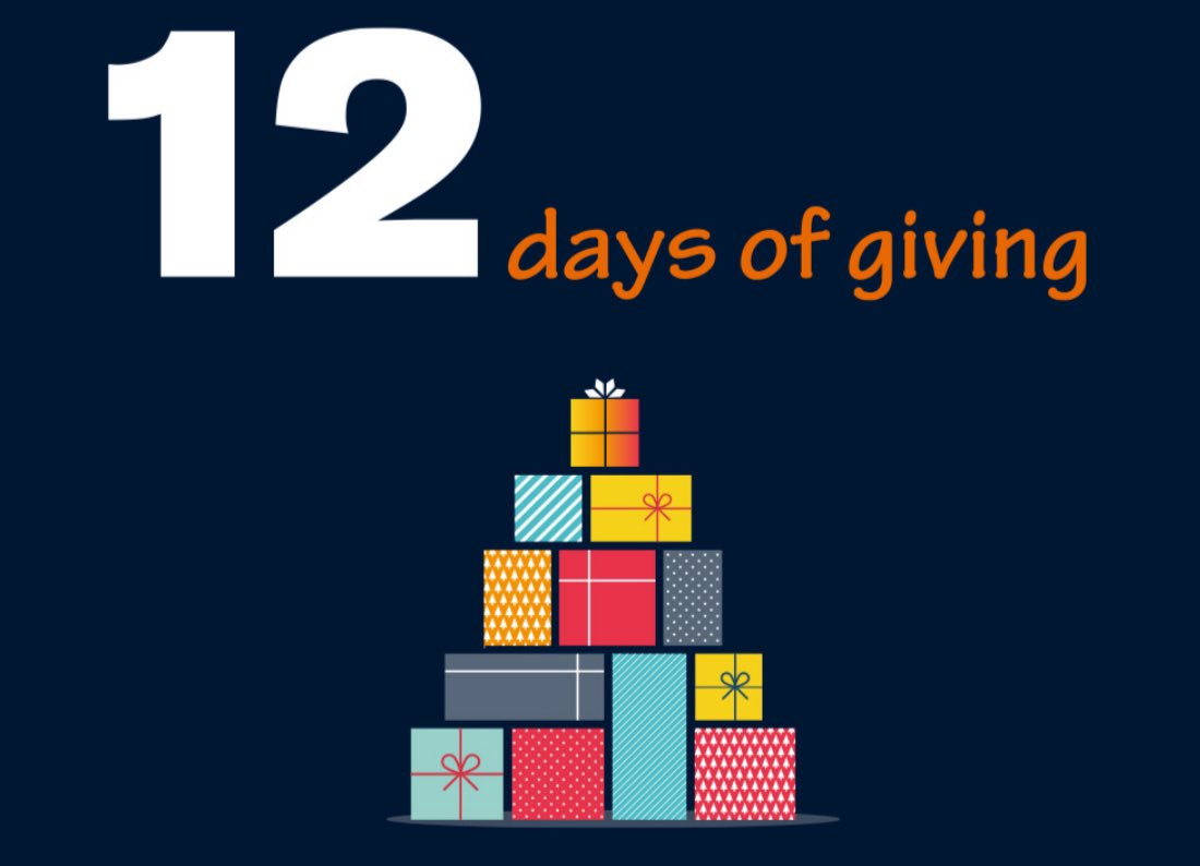 We had some news that made us smile!  The Mulberry Centre has received £1,000  as a part of  @Ecclesiastical's #12daysofgiving. This donation will make a huge difference to The Centre and the clients we support. Thank you to Ecclesiastical and everyone who voted.