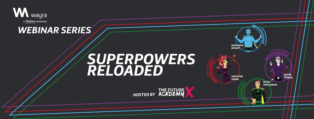 👀 Check out @WayraGermany's Video Learning platform where you'll find the #SuperpowersReloaded, an online series to help you explore the four superpowers that will boost startup success.     #WeAreWayra #SomosTelefónica