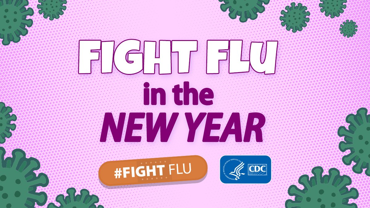 Making plans for the #NewYear? Get a head start on your 2021 health goals by getting your #fluvaccine. Flu vaccine prevents millions of illnesses each year & is more important than ever during the pandemic. Learn more: bit.ly/2GiEAwN.