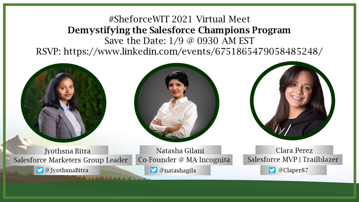 Every Champion was once a Contender that never refused to GIVE UP  Join us on 1/9 @ 0930 AM ET to Demystify the Salesforce Champions Program announced by @salesforce   RSVP:  Official Website:   @salesforce @trailhead @marketingcloud