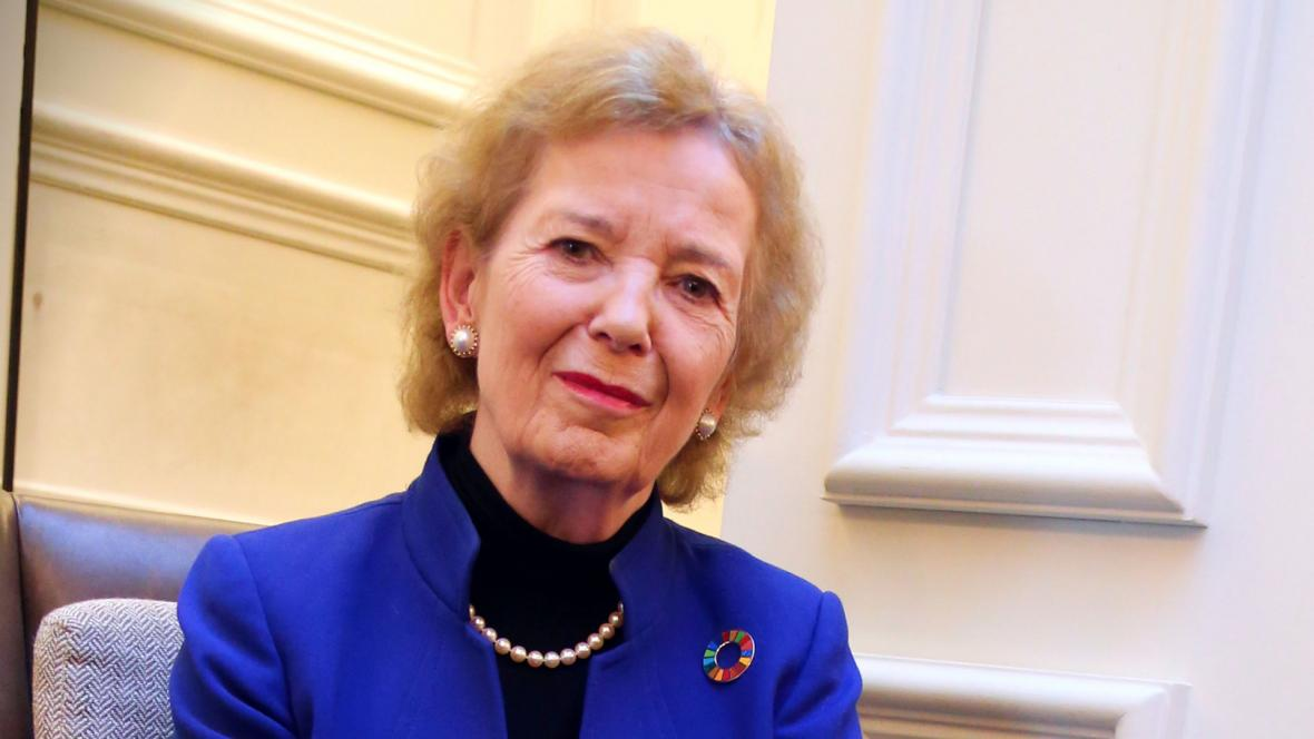 """We have become acutely and intimately aware of the fragility of human existence and the extent to which our fates are interconnected, not just across borders but down the generations.""    Mary Robinson on addressing our shared challenges in 2021."