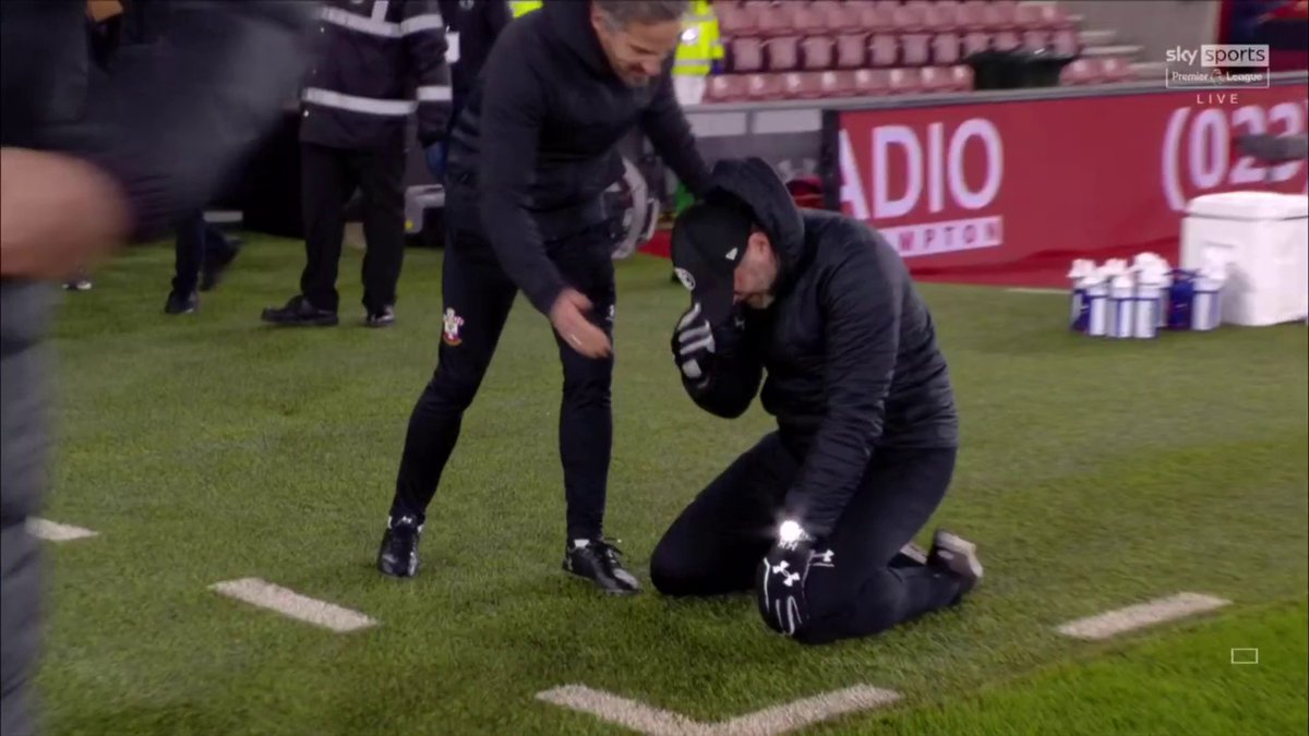 An emotional Ralph Hasenhuttl after last nights win. Called it the 'Best Moment of his Career' 👏❤️  Southampton 1-0 Liverpool  Hasenhuttl is the most underrated Manager in the Premier League. Said it for a while now.  What a guy & win.  #SOTLIV #SOULIV  https://t.co/0O8CG0bD18
