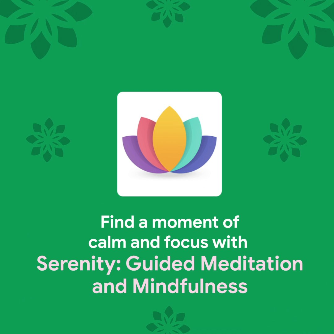 Kick start your 2021 resolutions and start taking care of yourself TODAY. The first step, head to Google Play to check out this app for meditation and mindful techniques 🧘‍♀️🧘‍♂️