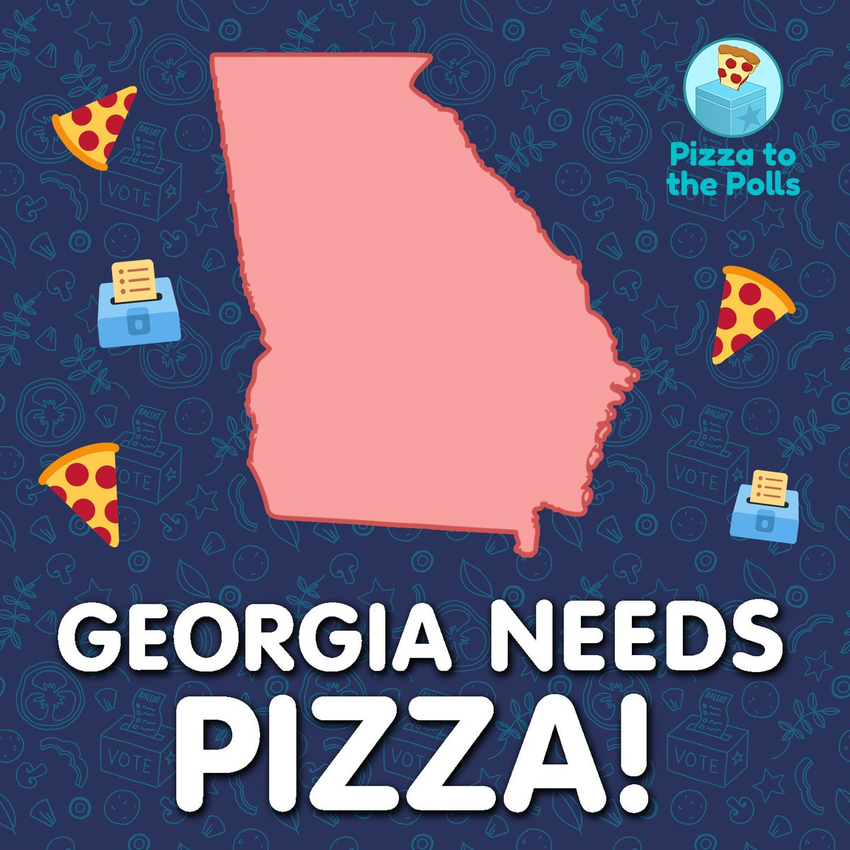 HEY GEORGIA! TOMORROW is Election Day!   Find your polling place here:   We'll be at the polls with some tasty treats! See you out there!