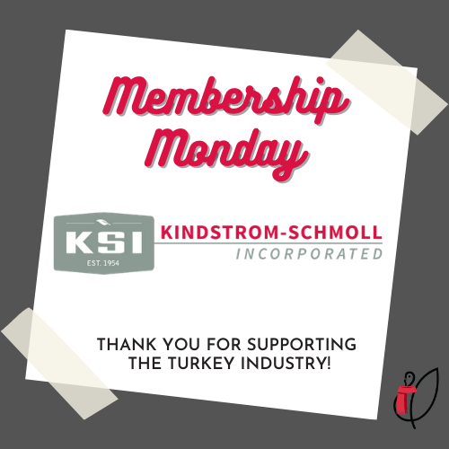 New year, same great NTF members! We're kicking off the 2021 edition of #MembershipMonday by highlighting Kindstrom-Schmoll, Inc. Headquartered in MN, they've provided quality specialty ingredients to the feed industry since 1954. Thanks for helping keep our turkeys eating well!