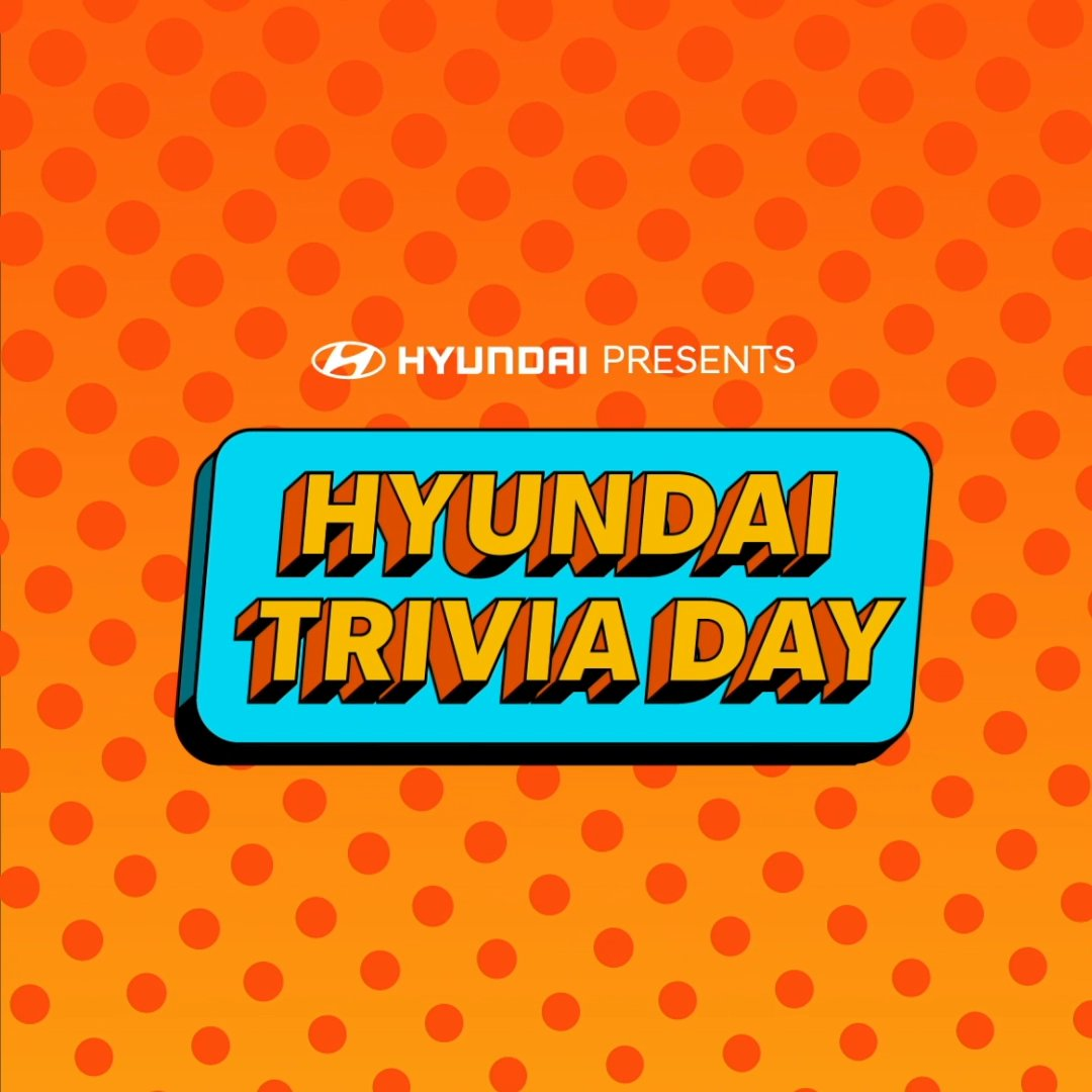Happy National Trivia Day! Time to test your Hyundai knowledge. 🧠 🚘 Let us know how many you got right. #NationalTriviaDay
