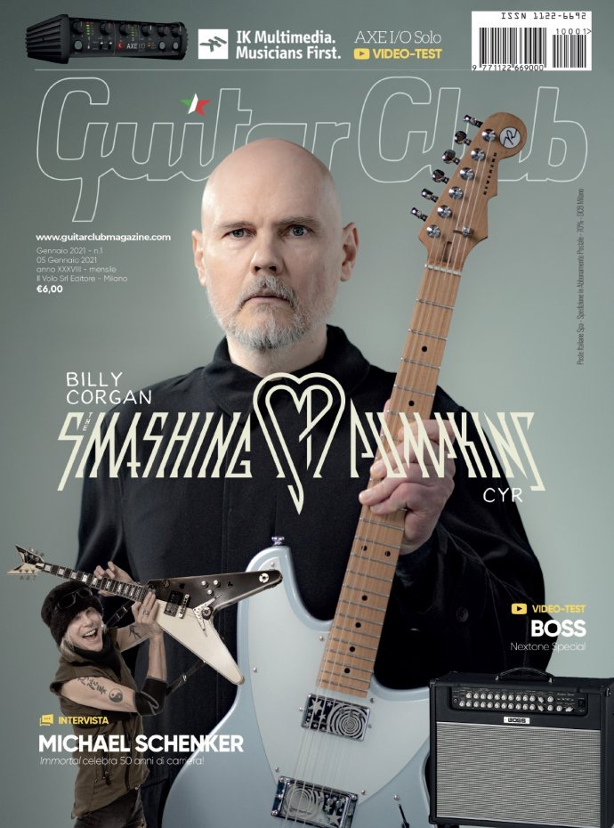 WPC on the cover of Guitar Club Magazine with his new @ReverendGuitars  prototype What's your favorite song to play on guitar? If you don't play, which song would you love to learn?