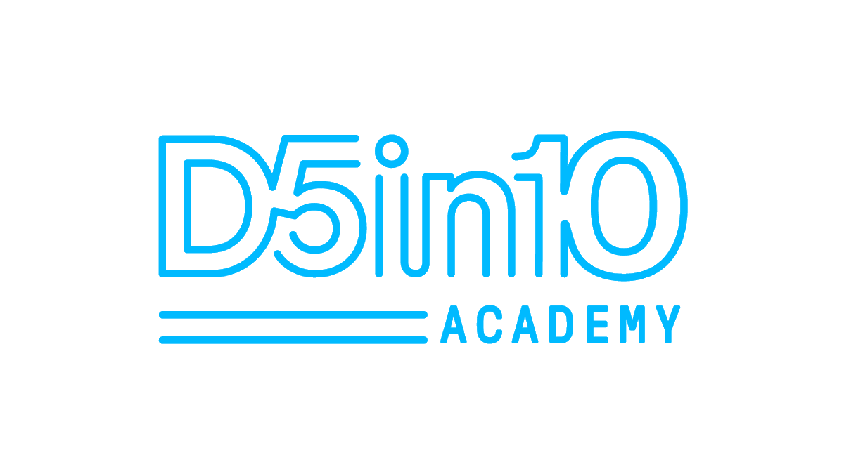Today is officially the last day to apply for our #D5in10 Academy! Click the link to find out more.