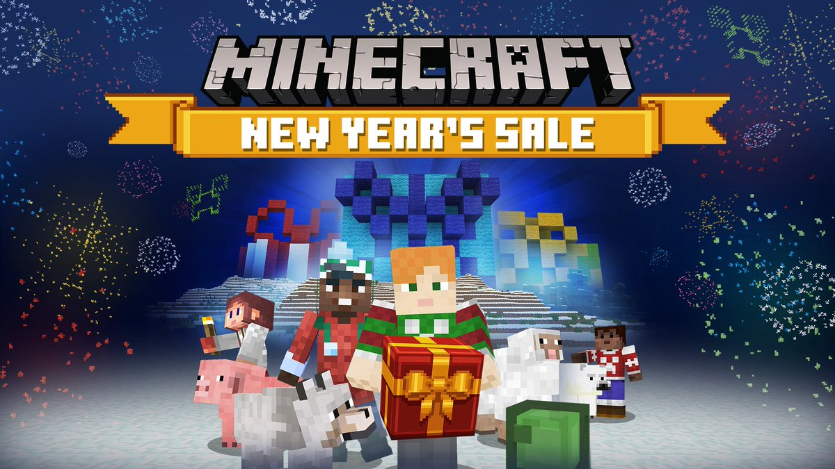 It's the final day of our New Year's Sale and your last chance to grab your free skin pack! Dress up to celebrate the New Year and save up to 75% off content from some of your favorite creators!  🎊