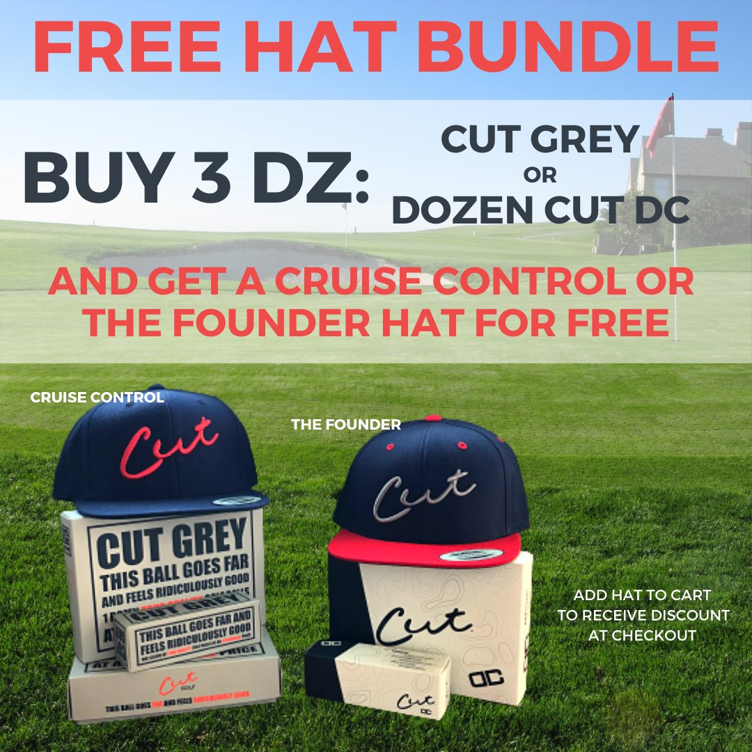 🚨FREE HAT ALERT🚨 Stock up on Cut Grey or Cut DC and get a free Cut hat*! Add all items to your cart and hat will be discounted to free at checkout. . *Free hat offer limited to CRUISE CONTROL or THE FOUNDER.