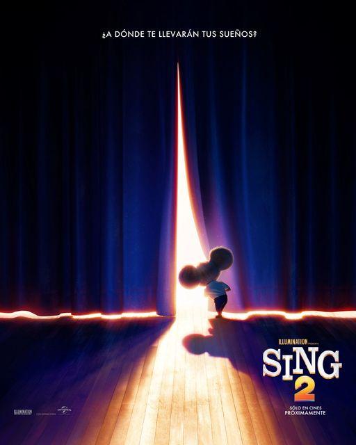 Te dejamos el 1er afiche de #Sing2