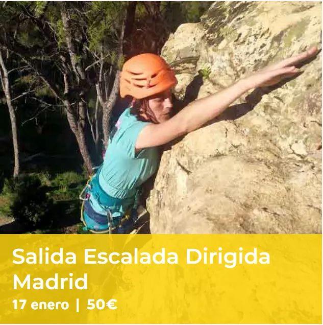 17 de enero. Escalada dirigida en San Martín de Valdeiglesias. Aún quedan 3 plazas disponibles. Información: 685531695 o en nuestra web:  https://t.co/3M7ZRmfQzB  #guiastitulados #guiaszonacentro #guiasdemontañapirineos #guiasescalada #climbinguides #climbing_is_my_passion ⛰⛰⛰ https://t.co/tV2tGZf6dc