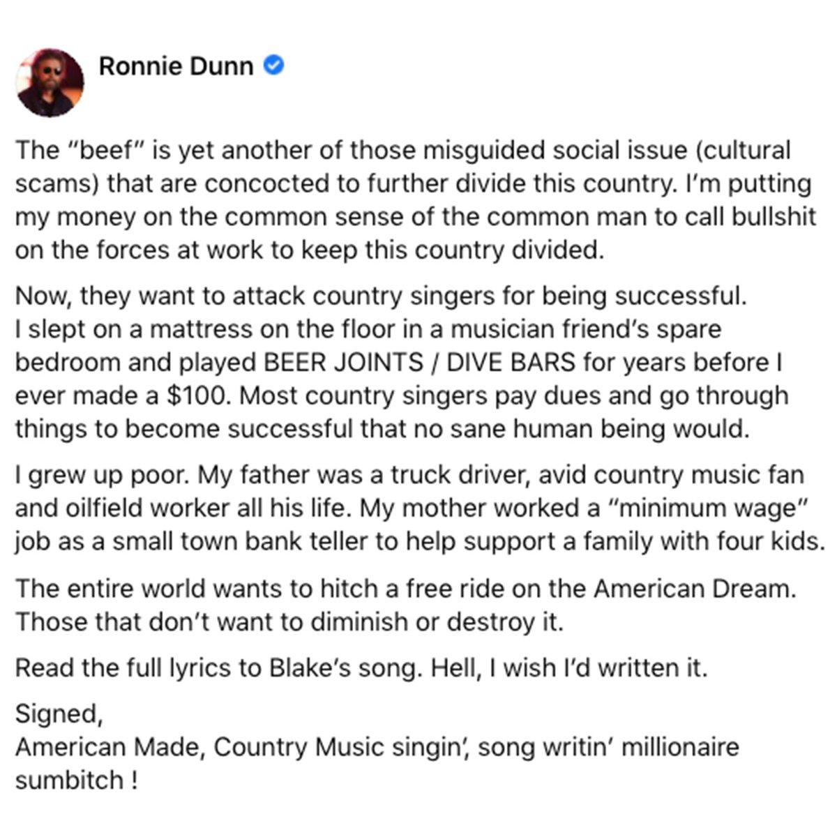 My two cents... #RonnieDunn #BlakeShelton #MinimumWage #HardWorkinMan #CostOfLivin #WorkingManBlues @blakeshelton