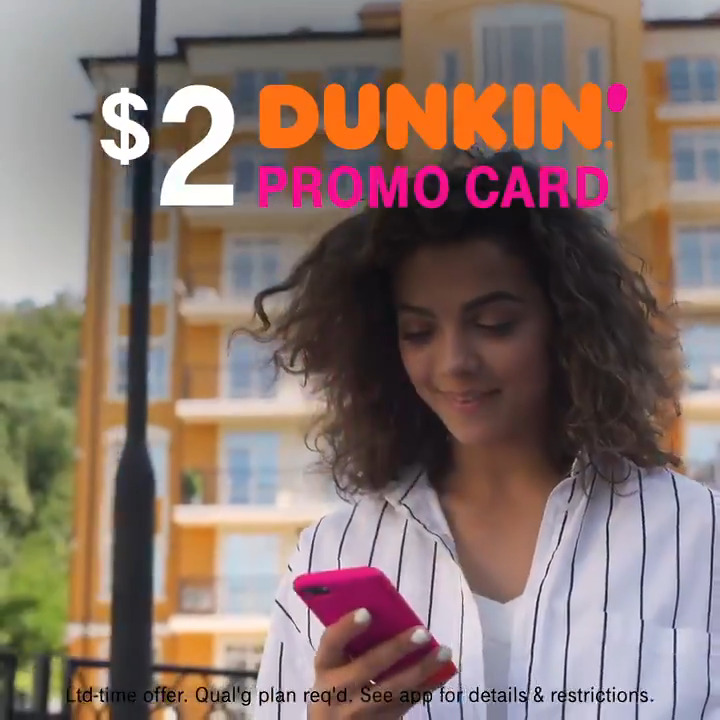 Watch out 2021, @dunkindonuts has a new coffee drink and it's—Extra Charged⚡️   Try it with a $2 promo card in the #TMobileTuesdays app.   📲: