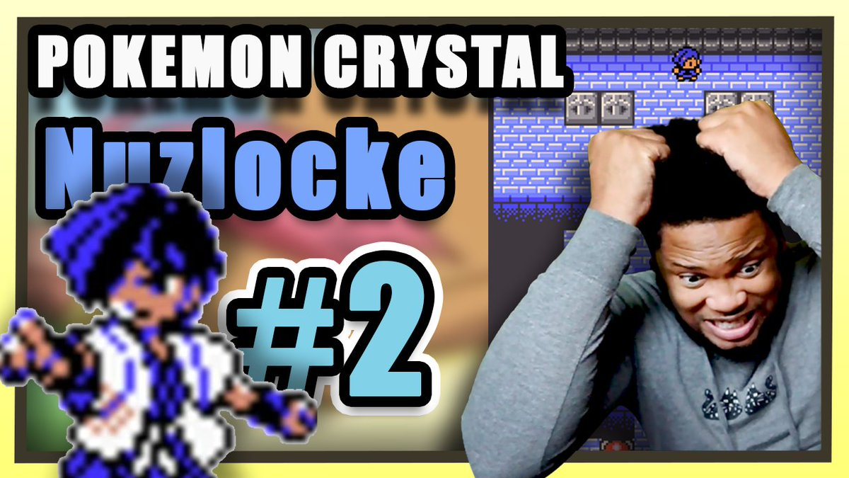 NAKAT - New team. New Vibes.   The Pokemon Crystal Nuzlocke continues after a sad defeat in the previous episode. Here we go!