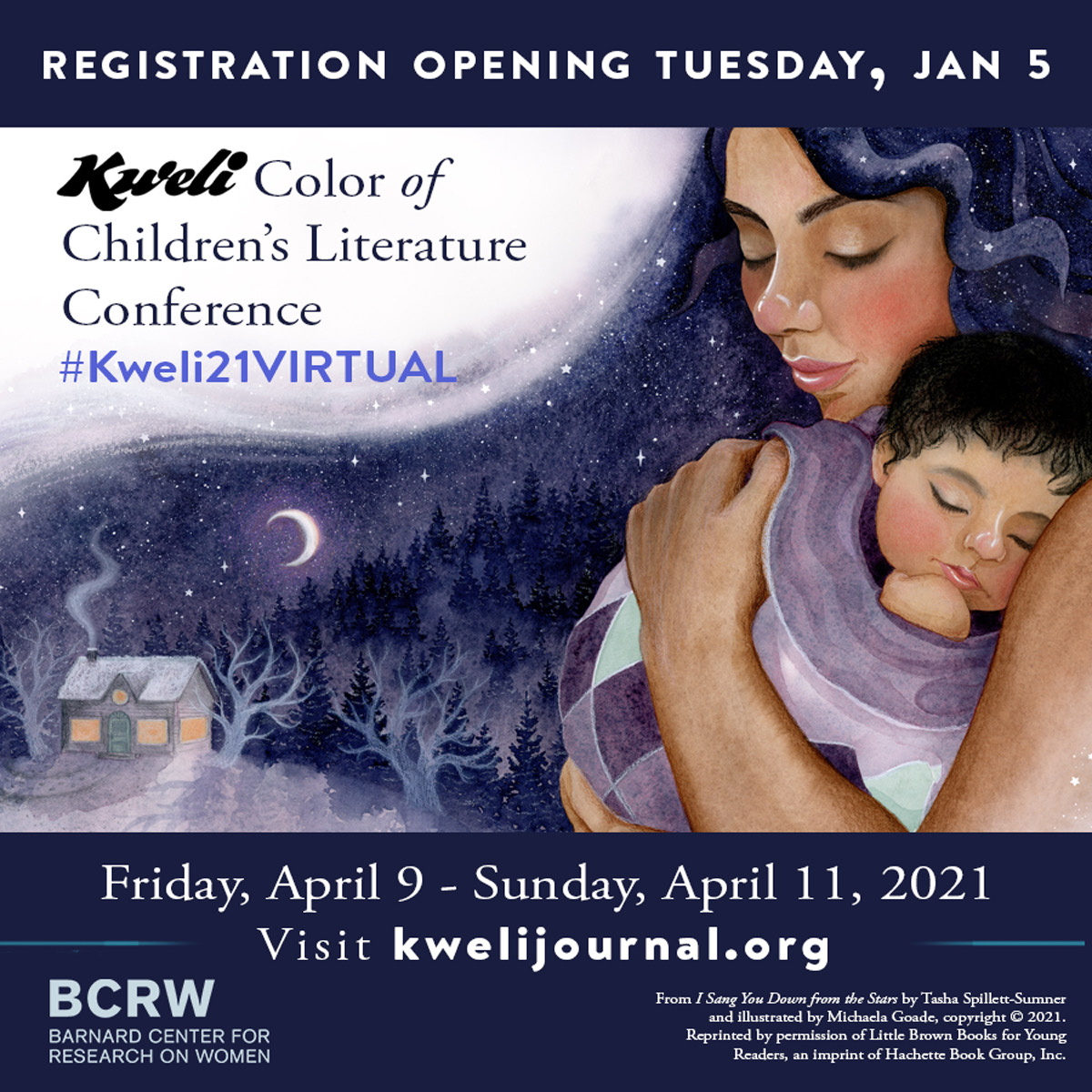 The wait is over. #Kweli21VIRTUAL