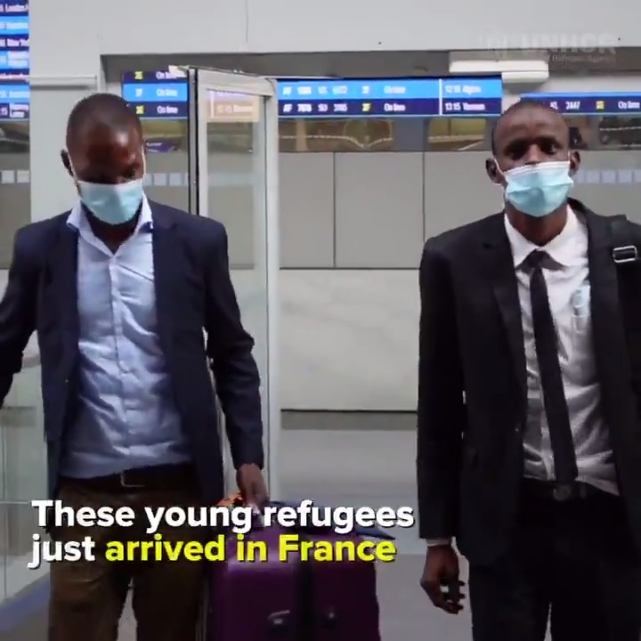 From Niger to Paris, two refugee students dream of using their education to bring positive change back home. ✈️  Thanks to scholarships, now they can. 🎓