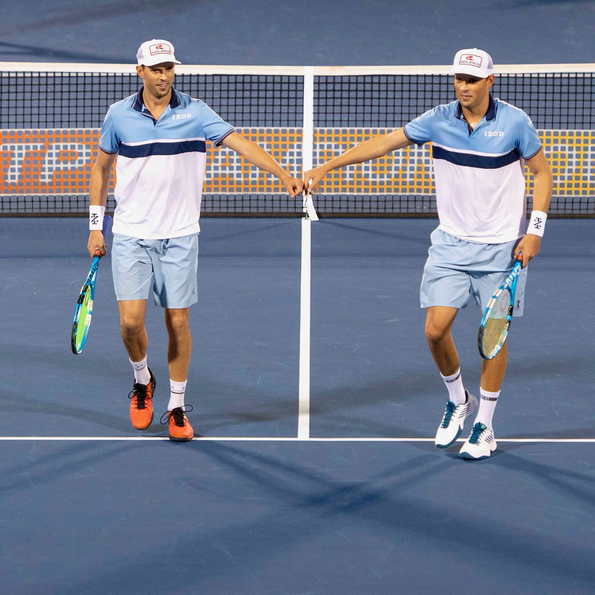 ✅ Make @ATPChampions debut ✅ Win in straight sets   Welcome back, Bryan Brothers!  #DBOpen | @Bryanbros | @Bryanbrothers https://t.co/vUXrDKAaHR