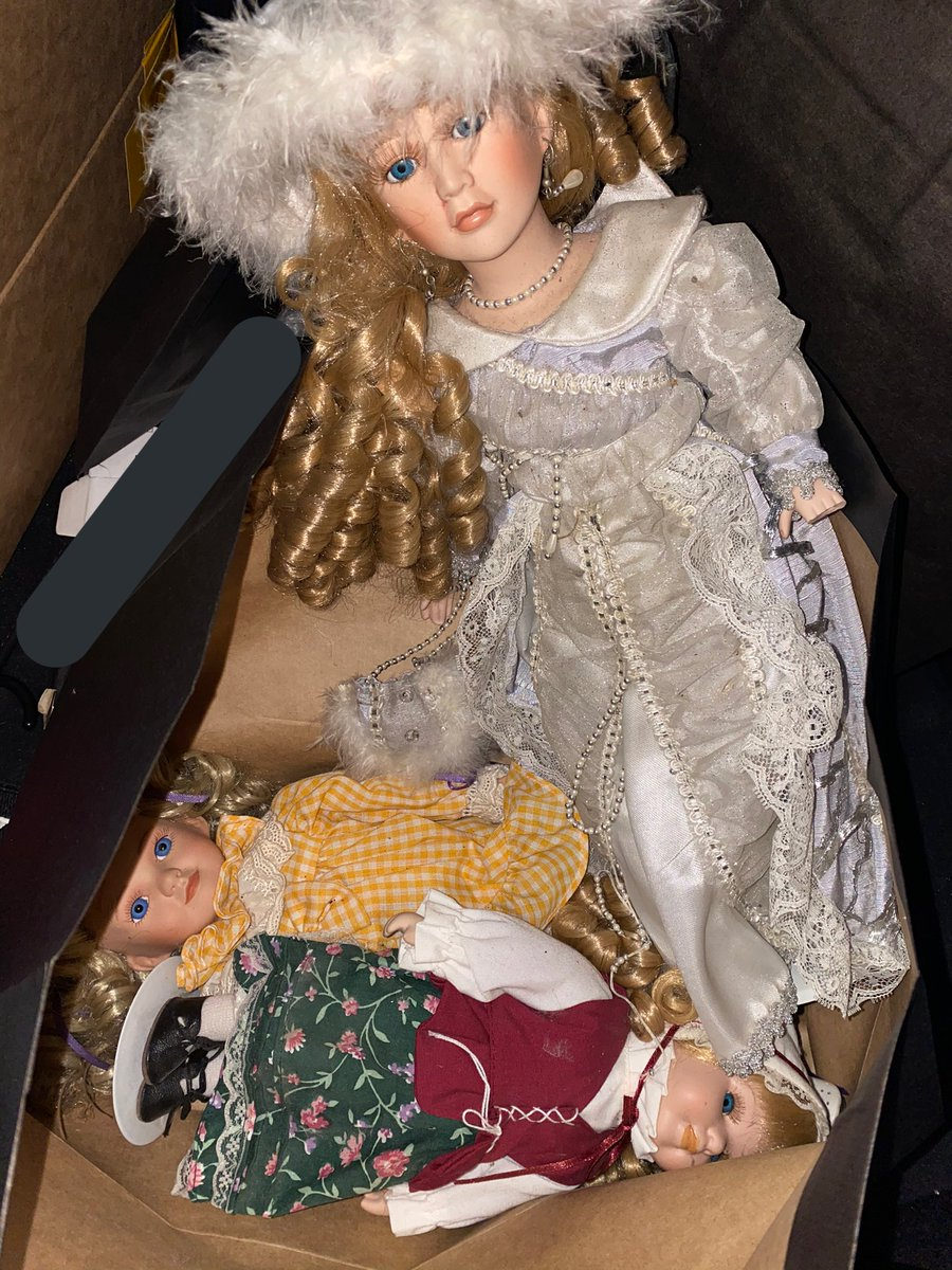 SO FOR CHRISTMAS I MAILED A BUNCH OF MY FRIENDS HAUNTED DOLLS AND NO ONE IS HAPPY WITH ME
