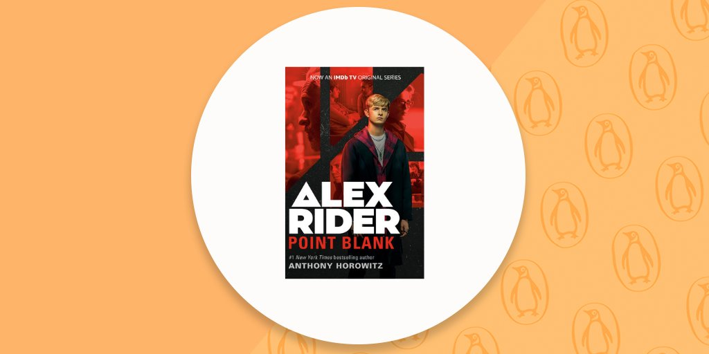 Happy #BookBirthday to POINT BLANK by @AnthonyHorowitz! Kids 10 & up can dig into the superspy adventures of the bestselling Alex Rider series, now a @IMDbTV original series.   Learn more:
