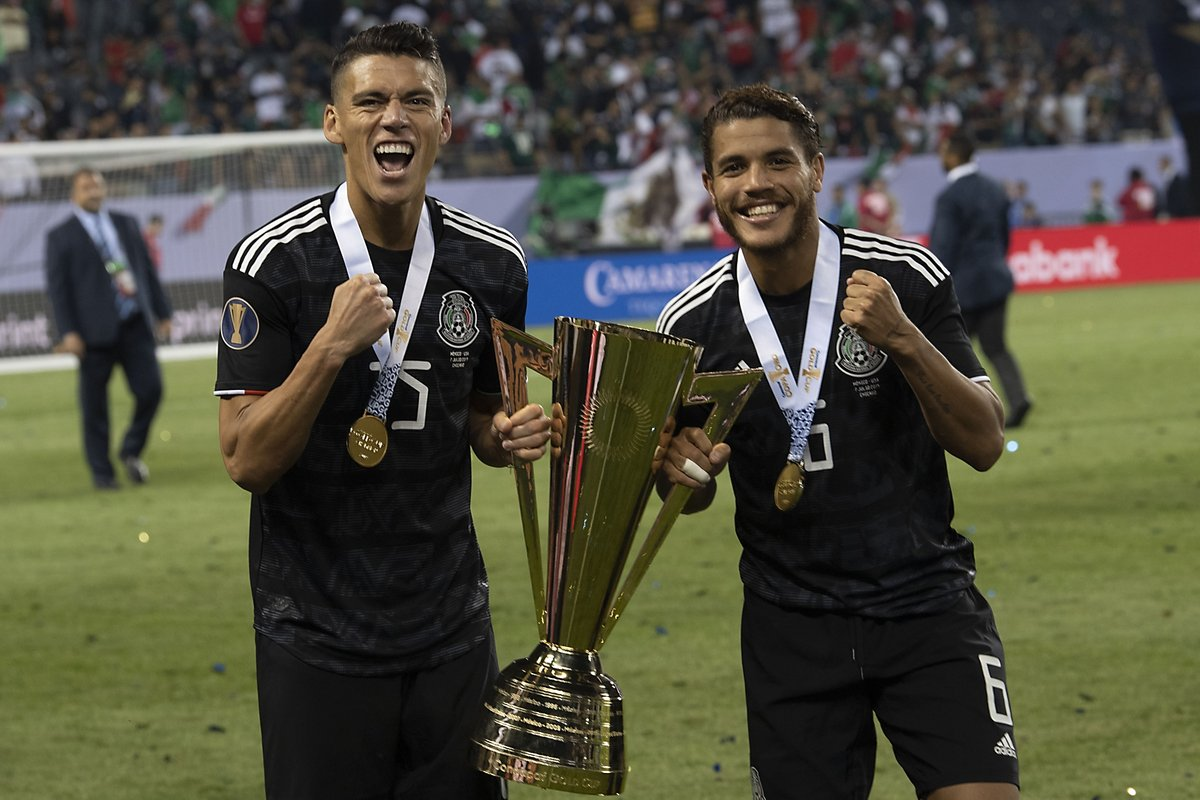 Today we celebrate #NationalTriviaDay by remembering our 2019 @GoldCup title!!!🇲🇽🏆🔥  Ready for some interesting questions??👀🤓  #PasiónyOrgullo | #FMFporNuestroFútbol https://t.co/49XB8d1s2V