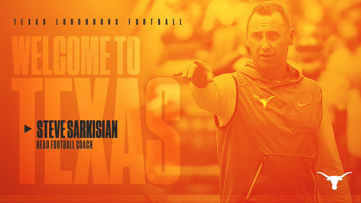 Congratulations and welcome to @UTAustin @CoachSark ... here's to building and investing in a future of excellence, let's rock, #hookem
