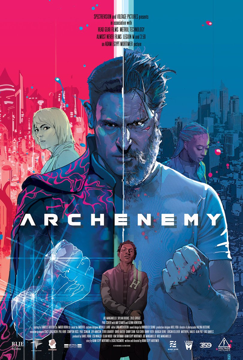You guys. Have you seen this yet? Cause do it. #archenemy @JoeManganiello @RLJEfilms @_SpectreVision @LegionMOfficial