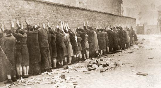 On this day in 1943, a handful of Jews in the Warsaw Ghetto launch the first of several violent uprisings against the Nazis. Armed only with pistols and molotov cocktails, the insurgents manage to temporarily disrupt the deportations.