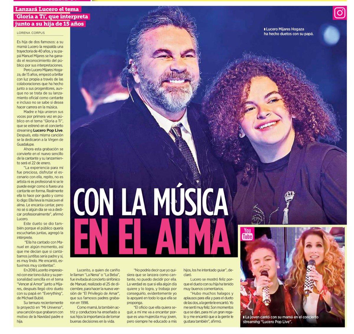 Replying to @LuceroMexico: Mi #LuceroMijares ♥️ Amo verla brillar, feliz, cantando con el corazón. 🌟💝👏🏼