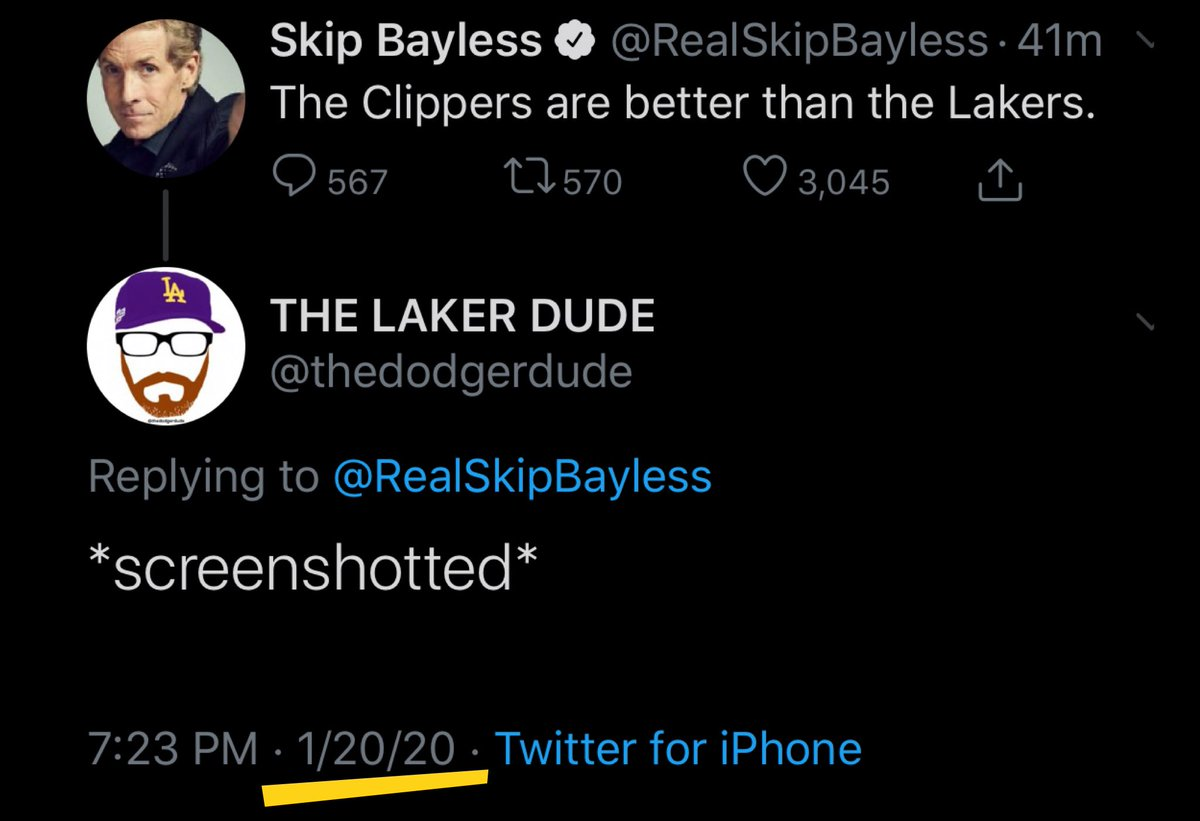 Lmao found this while cleaning out some old photos...... cmon skeeeeeup @RealSkipBayless