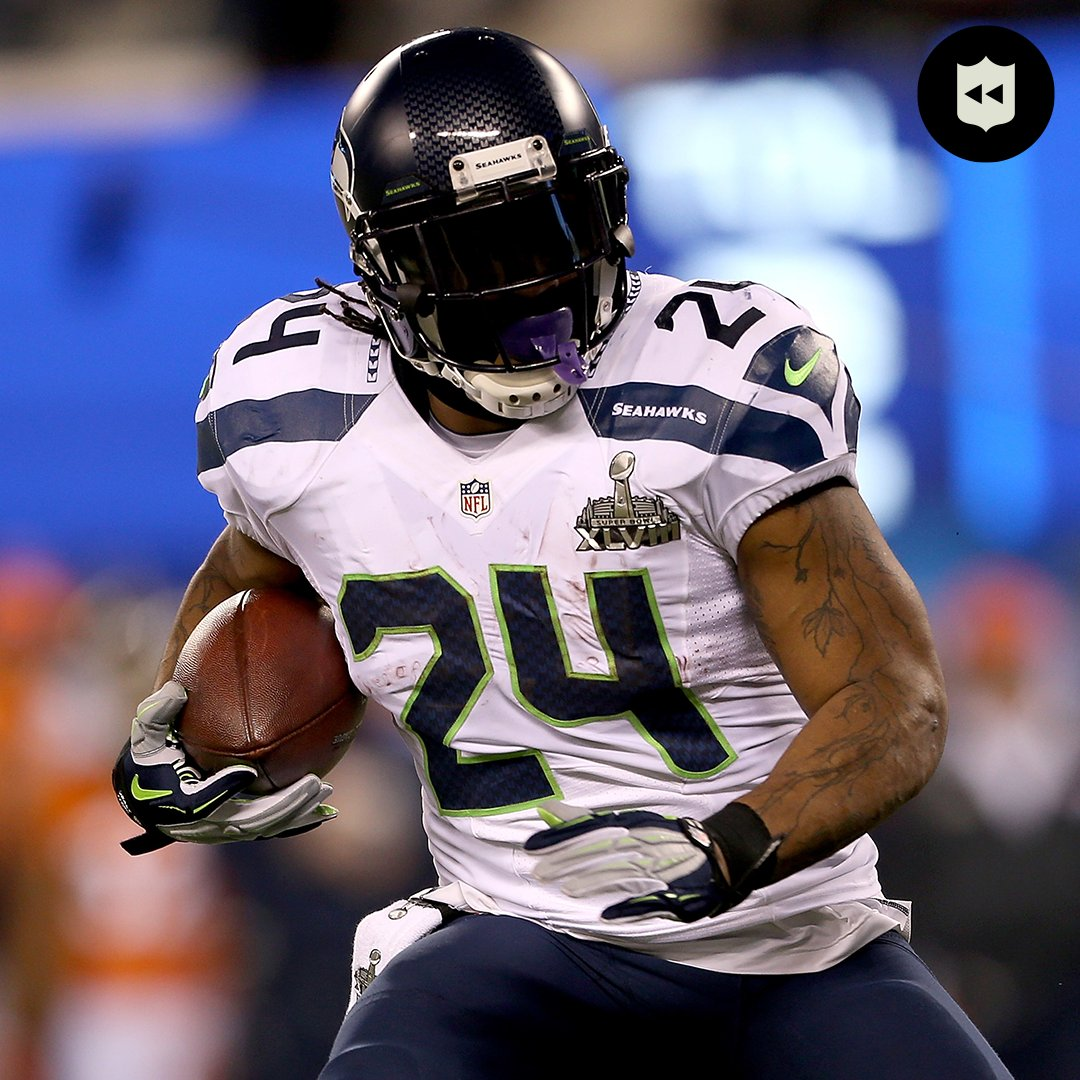 The best of BeastMode in the #NFLPlayoffs. @MoneyLynch  📺: #LARvsSEA— Saturday 4:40pm ET on FOX 📱: NFL app // Yahoo Sports app