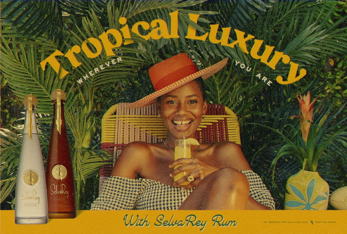 #SelvaReyRum #TropicalLuxury