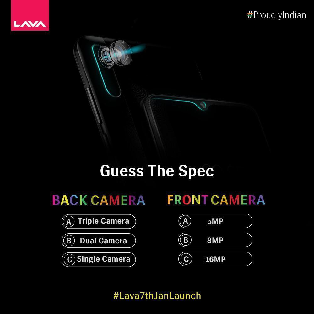 Get your focus right and guess the spec of our upcoming game-changing smartphone! Can you guess it? Tell us your answers in comments below. #Lava7thJanLaunch #ProudlyIndian  For contest T&Cs, visit :