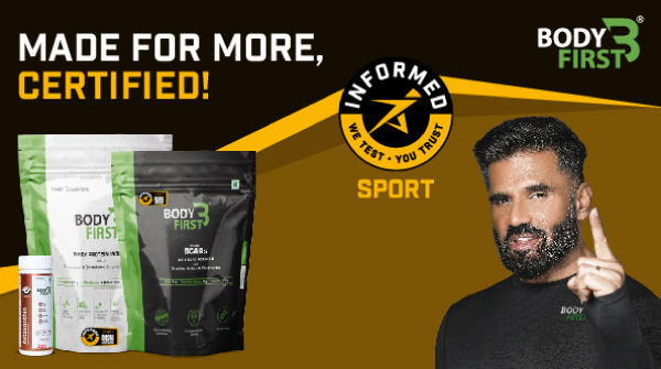 BodyFirst® Whey Protein Isolate, BCAA & Astaxanthin have been certified by the prestigious institution, Informed Sports! And, that just seals to what we have always said – #safer, #cleaner, better supplements made for you Because, you're Made For More! #BodyFirst #MadeForMore