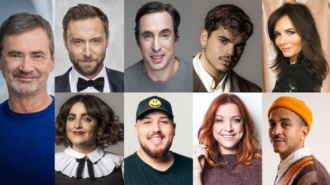 Programledarna för Melodifestivalen 2021