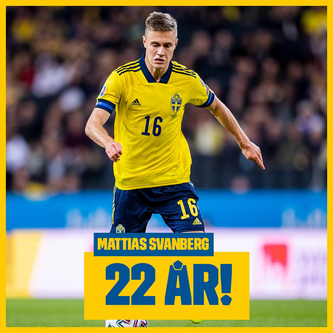 Stort grattis till Mattias Svanberg som idag fyller 22 år! 🎂🎉 Skriv din grattishälsning till Mattias här!