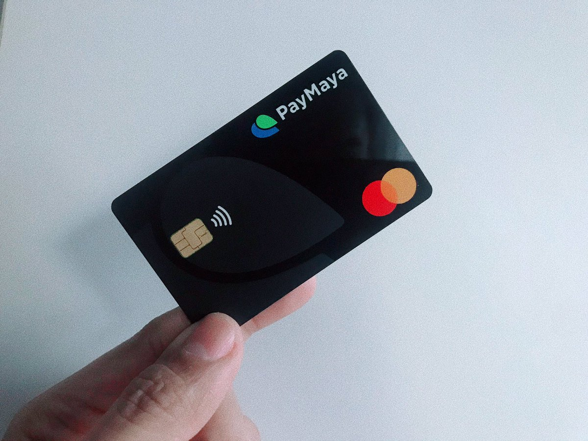 Had to get a new @PayMayaOfficial card coz my old one already expired. #dontpaycashpaymaya