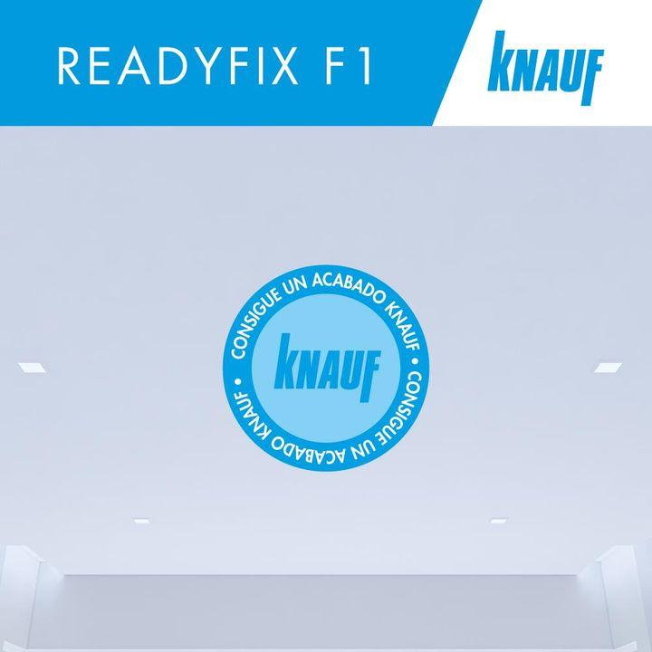 Nuestra #KnaufReadyfixF1 es una pasta lista al uso blanca que proporciona un acabado homogéneo en todo el paramento, evitando imperfecciones.   🔹Conoce más aquí: https://t.co/JgJn6D6SJL  #LaObraPerfecta #PastasKnauf #ConsigueUnAcabadoKnauf https://t.co/ZVhFxR2omf