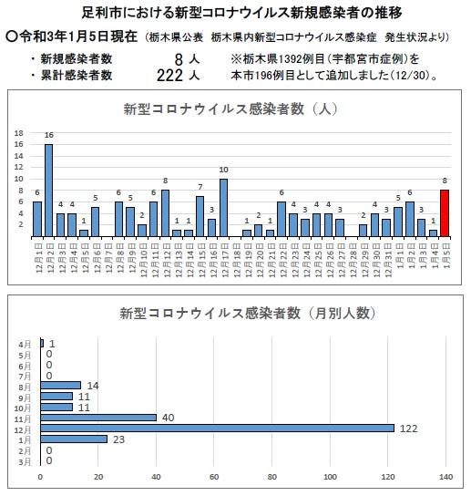 栃木 コロナ 感染 者 数