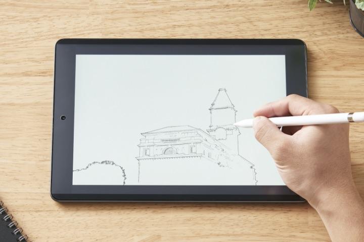 色や光の見え方が変わっちゃう問題を解決  お絵かきの時にだけピタッとくっつく! エレコムが「iPad用着脱式ペーパーライクフィルム」を発売 nlab.itmedia.co.jp/nl/articles/21…