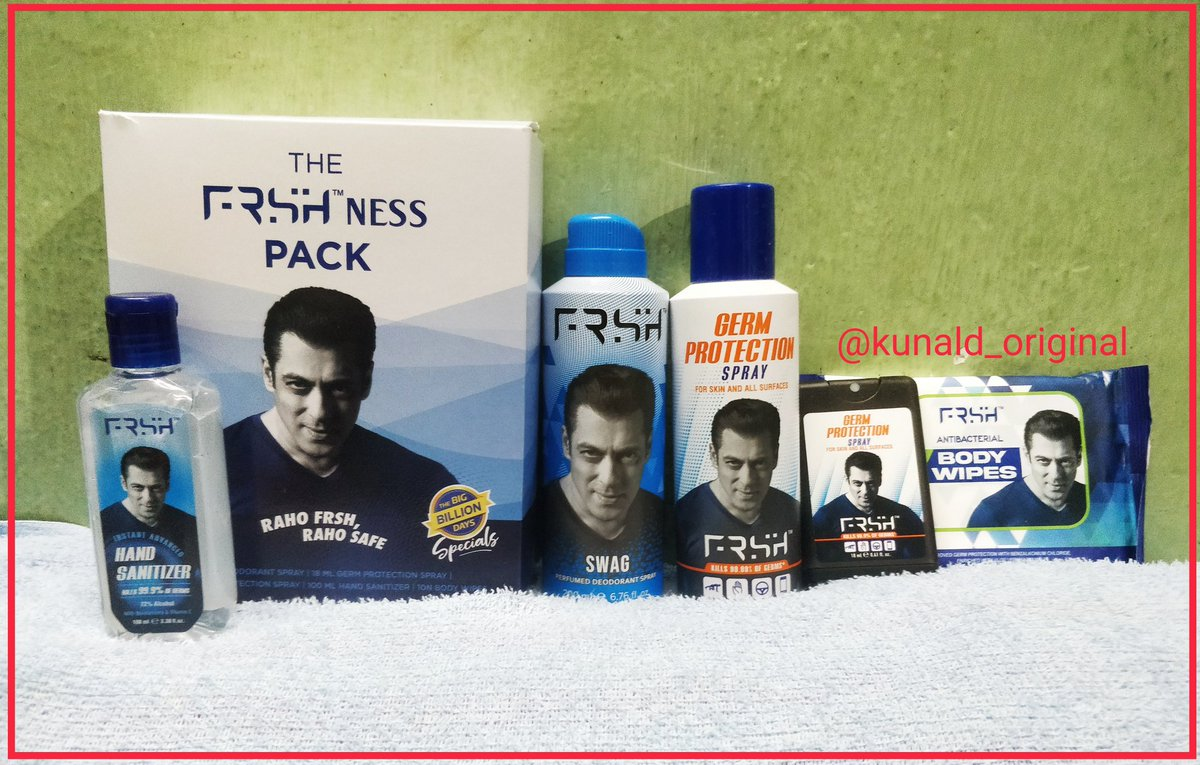 @BeingSalmanKhan @FrshGrooming I too use the same along with your other products ! They are just great ! #rahofrshrahosafe