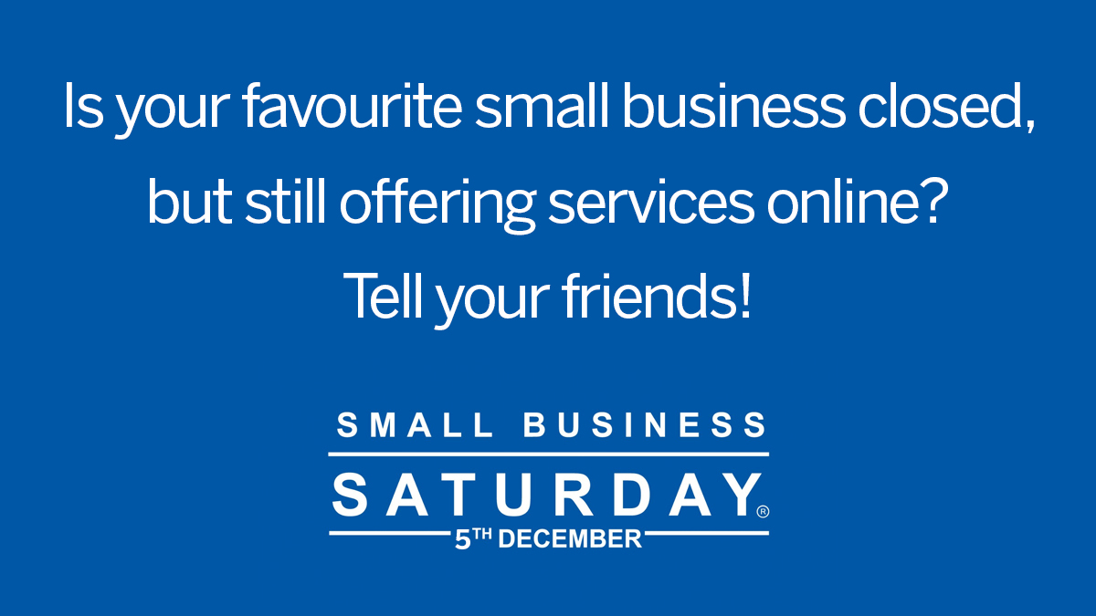 We can all support our local small businesses by telling our friends about amazing local products, excellent delivery service and customer care!
