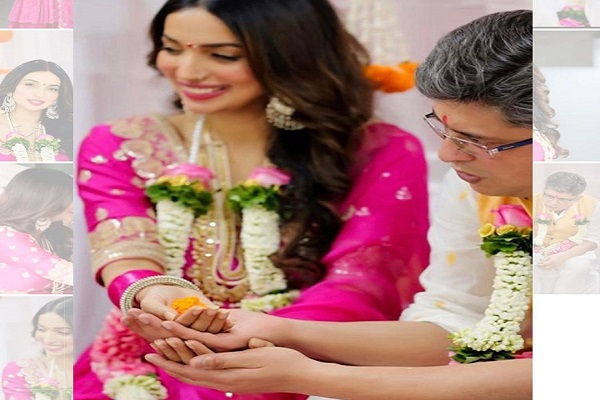 Writers Kanika Dhillon and Himanshu Sharma tie the knot    #HimanshuSharma #KanikaDhillon #Wedding @KanikaDhillon