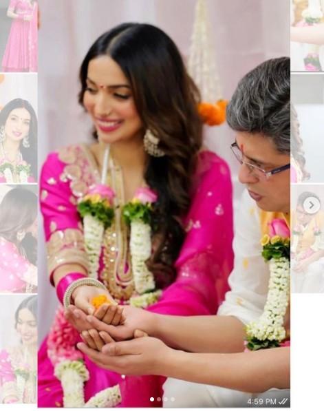 కనికా థిల్లాన్ రెండో వివాహం #KanikaDhillon #Ties #Knot #HimanshuSharma #KRaghavendraRao #Marriage