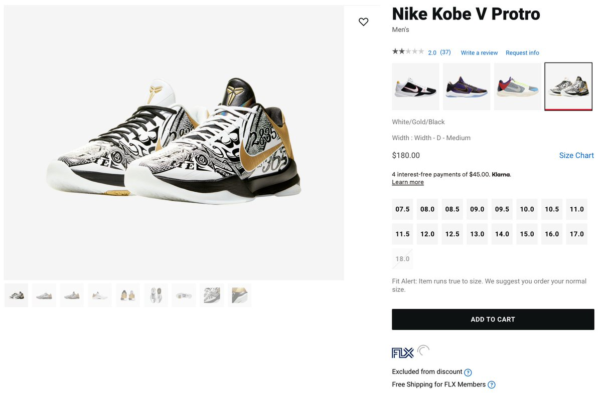 Solelinks On Twitter Ad Nike Kobe 5 Protro Restocked Via Foot Locker Https T Co Xdu2dvjfa7 Good Luck Adding To Cart Links to sneaker deals, release info, restocks, etc. solelinks on twitter ad nike kobe 5