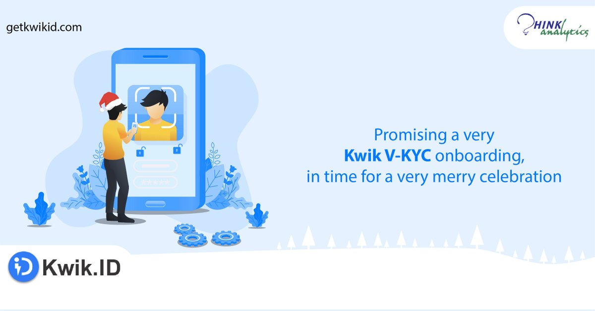 Deck the halls…with good lighting, so AI-powered tools like #Liveliness and #Facematch can work efficiently to make your onboarding process a Kwiker one.  #GetDigitallyKwik #KwikID #VideoKYC #CustomerOnboarding #VKYC #KeepMoving #Christmas2020  #MerryChristmas2020