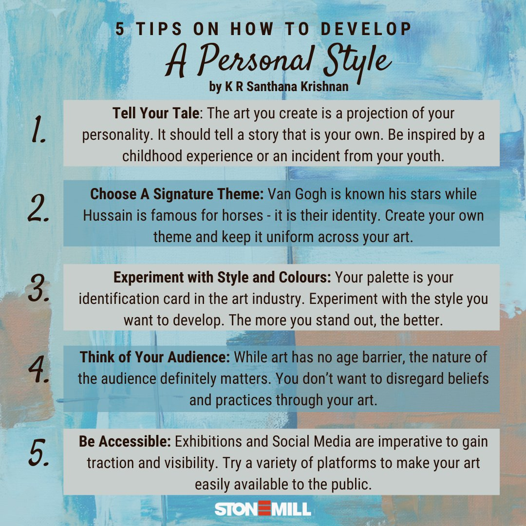 Nostalgic & thought-provoking, KR Santhana Krishnan's #TheDoors paintings have broken norms & helped him develop a style unique to his personality.   Develop your personal style just like him, with these 5 tips! Read about his journey on   #art #tbt #tips