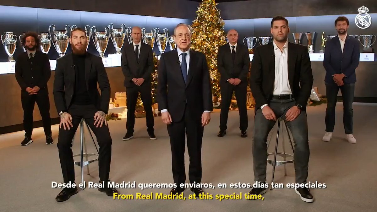 Replying to @realmadrid: 🎄🌟 ¡Os deseamos felices fiestas y feliz año nuevo! #RealMadrid | #HalaMadrid