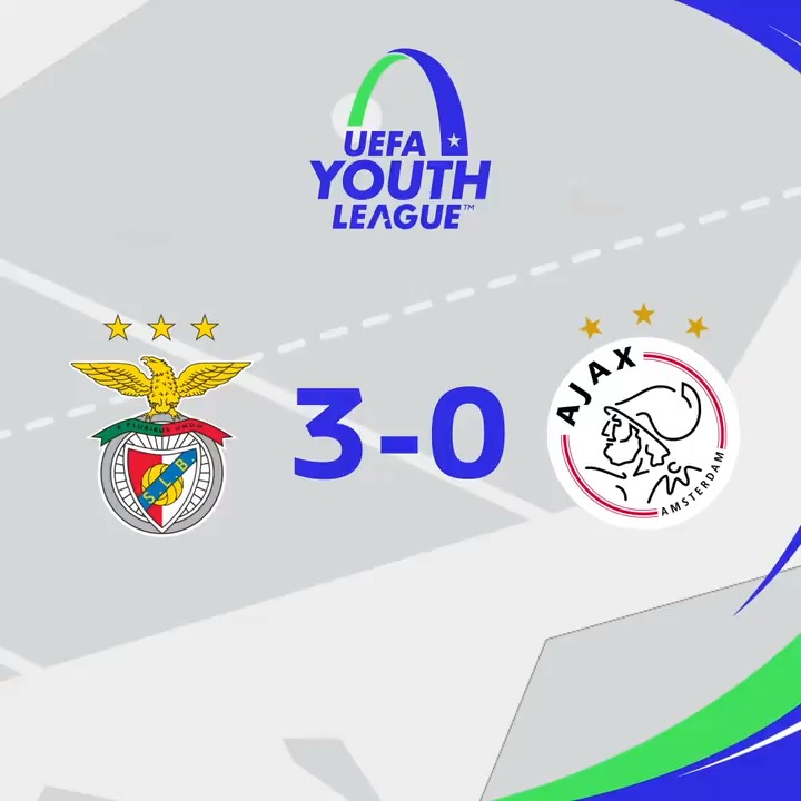 ⏪ How the 2020 #UYL was won 🏆   @SLBenfica reached their third final with victory against @AFCAjax ⚽⚽⚽