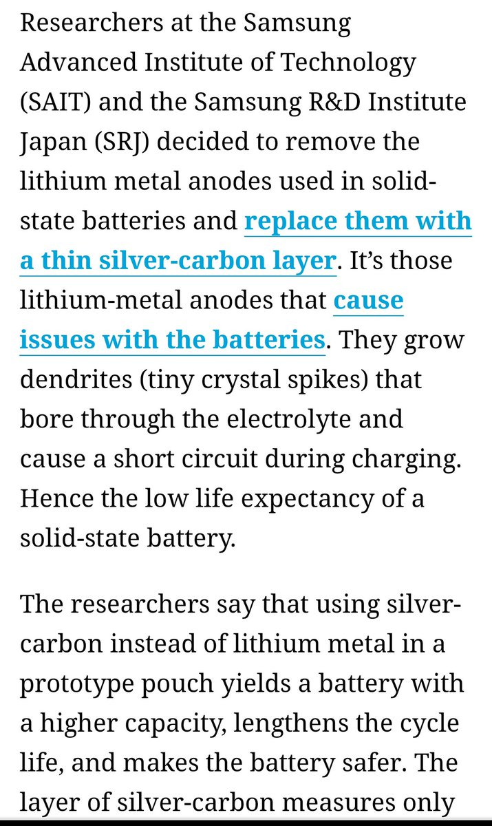 Who else is replacing using Carbon tech in batteries to replace the existing Lithium-Ion batteries other than ZapGo? $COUV ⏭️🌐💠 It's Samsung....the top manufacturer of Battery Technology ⚡🔌🚕🛵 #Samsung #samsungglobalgoals  Coming soon....  ⚡
